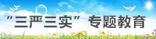 """""""三严三实'专题教育"""